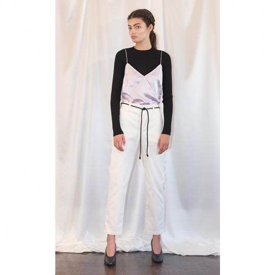 String Silk Camisole