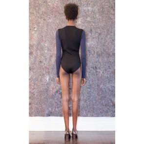 Color Blocked Bodysuit